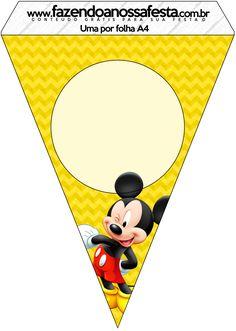 MICKEY-2-COM-BOLINHAS_135 - Fazendo a Nossa Festa Minnie Mouse Birthday Invitations, Theme Mickey, Mickey Mouse Clubhouse Birthday Party, Mickey Birthday, Mickey Party, Mickey Mouse E Amigos, Mickey E Minnie Mouse, Mickey Mouse And Friends, Scrapbook Da Disney