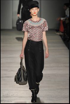 Marc by marc Jacobs, Fall 2012: amazing pants!