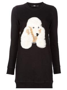 Poodle Motif Dress by Markus Lupfer