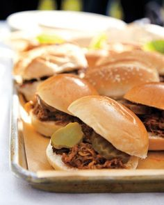 Pulled-Pork Sliders Recipe