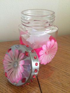 ScraPerfect: Decorative Jar Project