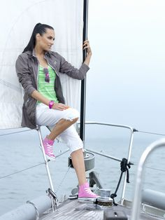 Great casual sailing look