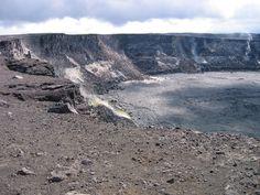 Kilauea Crater, Hawaii Volcanoes National Park, Hawaii