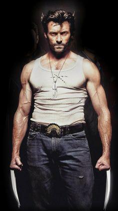 Hugh Jackman as Wolverine - - Marvel Wolverine, Wolverine Movie, Logan Wolverine, Marvel Comics, Wolverine 2009, Hugh Jackman, X Men Evolution, Best Superhero, Black Panther Marvel