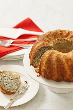 Njamelicious: Tulbandcake met maanzaad en sinaasappel