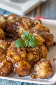 Gluten Free Monkey Bread (plus it's Dairy Free & Vegan Too)