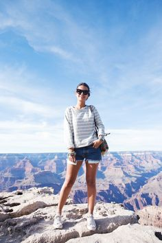 Grand_Canyon-Arizona-Shorts_Levis-Striped_Top-COnverse-Outfit-Denim-10