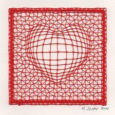 3D-Herz von Lieselotte Steber