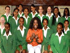 oprah helps education in africa