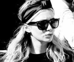 Black and white Olsen. The urban turban. #dose