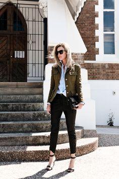 military jacket street style 2jpg