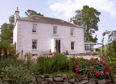 Drochil Castle Farmhouse, West Linton, Peebleshire, Scottish Borders, Scotland, Bed & Breakfast, #AroundAboutBritain. Holiday, Travel, Travel UK, Family, Holiday Accommodation, Views, Breakfast.