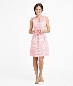 Buy Scribble Lattice Sleeveless Dress | Free Shipping on $125 - Vineyard Vines
