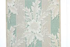 REMNANT of Vintage Wallpaper Single 38 Inch by RemnantsAndRolls