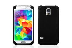2-in-1 Combo Tough Armor Heavy-duty Hybrid Cases for Samsung Galaxy S5 | Lagoo Tech