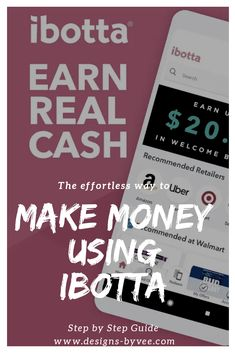 If you have to spend money why not do it the smart way? Learn how to use Ibotta to make you money on items you planned on buying anyway. Step by Step Guide inside. Earn Money From Home, Way To Make Money, How To Make, List Of Teams, You Used Me, Creating A Brand, Saving Money, Saving Tips, Being Used