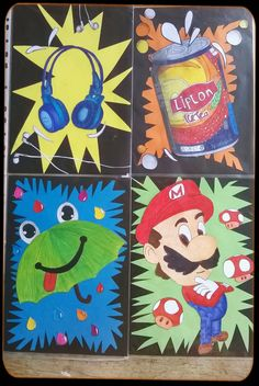 Pop-art volgens Burton Morris Middle School Art, Art School, Burton Morris, Art Lessons For Kids, Pop Art, Art Ideas, Kids Rugs, Room, Decor
