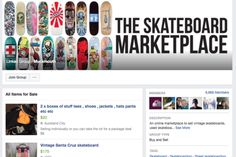 The Skateboard Marketplace Facebook - How to buy a cheap skateboard online #BoardBlazers #skate #skateboarding