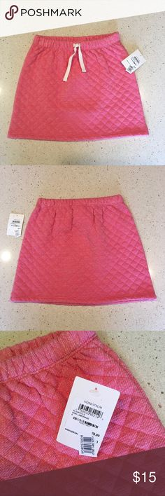 Tucker+Take Quilted Pink Skirt - size 6 - NWT Tucker+Take Quilted Pink Skirt from Nordstrom with faint silver horizontal lines - size 6 - NWT Tucker + Tate Bottoms Skirts