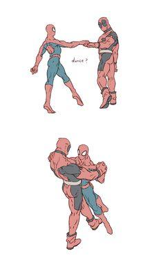 spiderman x deadpool - Buscar con Google