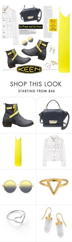 """""""So Fresh and So Keen: Contest Entry"""" by lisalockhart ❤ liked on Polyvore featuring Keen Footwear, ZAC Zac Posen, P.A.R.O.S.H., MANGO, Matthew Williamson, ChloBo, Jordan Askill, BillyTheTree and keen"""