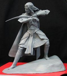 Elf sculpted