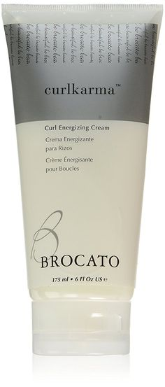 Brocato CurlKarma Curl Energizing Cream, 6 Ounce *** This is an Amazon Affiliate link. Click image for more details.