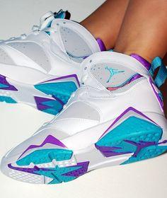 Jordan 7. Charlotte Hornets all da baby 704