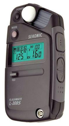 Sekonic digital light meter