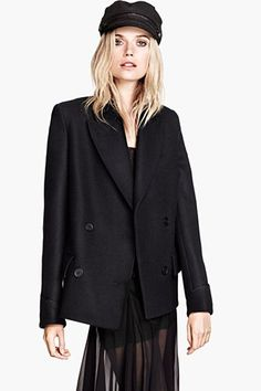 Stay Toasty In These 25 Chic Peacoats #refinery29