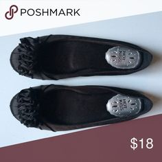 Black Ballet Slippers Never worn Hot Kiss Shoes Flats & Loafers
