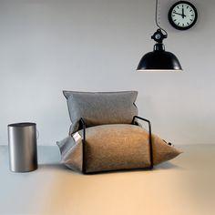 Aufblasbare Möbel mit Raffinesse