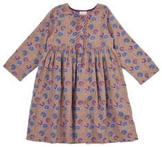 sienna indian print dress from Pink Olive - $72.00