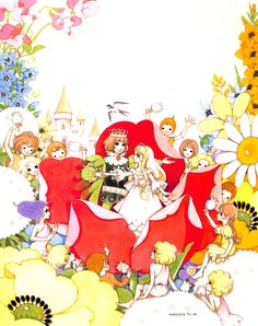 Thumbelina by Macoto Takahashi Betty Boop, Makoto, Coloring Book Art, Postcard Art, Retro Illustration, Geek Art, Manga Drawing, Illustrations And Posters, Anime Comics