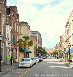 visiting Charleston, SC