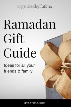 Ramadan Gift Guide featuring Ramadan Reflections- 10 Minute Journal