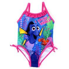 Disney Pixar Finding Dory Nemo Girls Swimwear. www.YankeeToyBox.com #YankeeToyBox #FunStartsHere #Disney #Pixar #DisneyPixar #FindingNemo #FindingDory #Swimwear