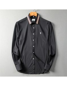 Burberry Shirts For Men, Cotton Shirts For Men, Burberry Men, Chinese New Year Holiday, Men Shirt, Men Fashion, Style Ideas, Casual Shirts, Buttons