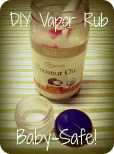 3 TBSP coconut oil 5-10 drops eucalyptus oil 2-5 drops rosemary oil (pregnant mamas should omit this if they will be using this recipe on themselves! Click here for an explanation of why) 2-5 drops lavender oil (optional, but it smells great)