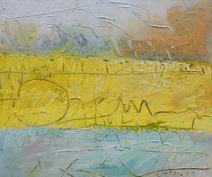 """Circle Y,"" Acrylic on Canvas, 32 x 38 in."