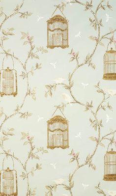 Birdcage Walk - wallpaper for bedroom