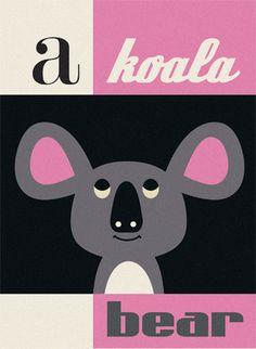 A koala - CUTE!