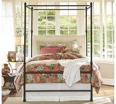 Antonia Canopy Bed #potterybarn                 I Love this!!!