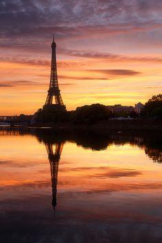 Oil painting in Paris