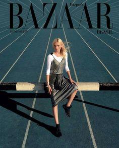 Aline Weber for Harper's Bazaar Brasil July/August 2016