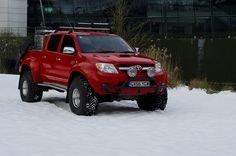 Arctic Trucks Toyota Hilux by Toyota UK, via Flickr