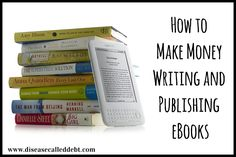 My new series is called How to Make Money Writing and Publishing eBooks. Part 1 explains how to write an eBook (that sells) and what length it should be.