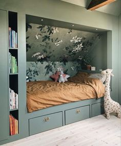 Is To Me - Scandinavian Design, Homeware, Accessories & More kids room # Girls Bedroom rhs Home Bedroom, Girls Bedroom, Bedroom Decor, Bedroom Ideas, Bedroom Alcove, Alcove Bed, Bedroom Country, Attic Bedroom Storage, Bedroom Reading Nooks