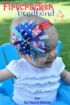 Firecracker Headband - The Ribbon Retreat Blog