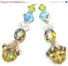Summer SALE Earrings REFLECTIONS Karen Hill Tribe by WhitePickets, $21.00
